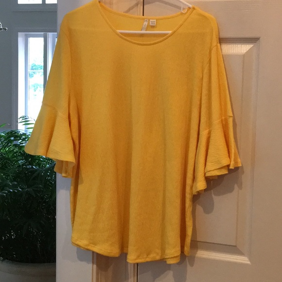 Cato Tops - Bell-sleeve Top